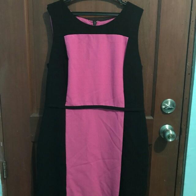 Office dress (for plus size women)