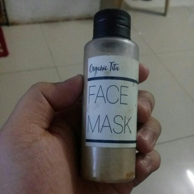 Organic Tita's Face Mask