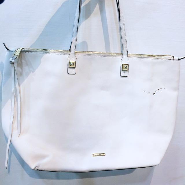 Original Rebecca Minkoff large tote bag in white