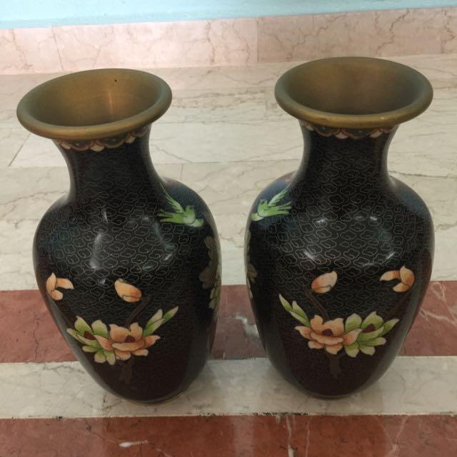 Pair Of Antique Vase