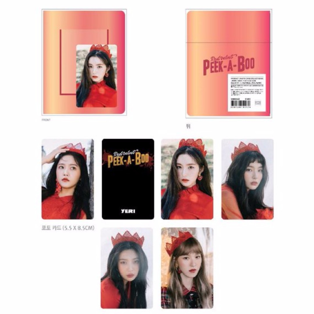 Perfect Velvet Photocard Collect Book