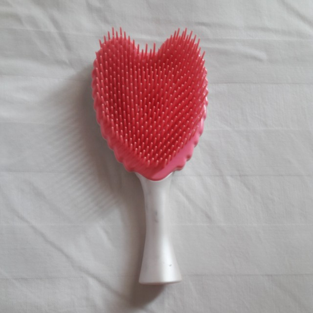 Pink white comb sisir
