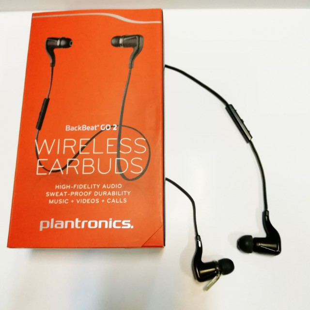 Plantronics Backbeat Go 2 Bluetooth earphones