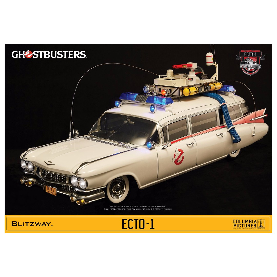 Po Blitzway Bw Ums10401 Ghostbusters 1984 1 6 Scale Ecto Toys Lego 75828 Ampamp 2 Games Bricks Figurines On Carousell