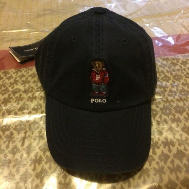Polo Ralph Lauren bear hat navy
