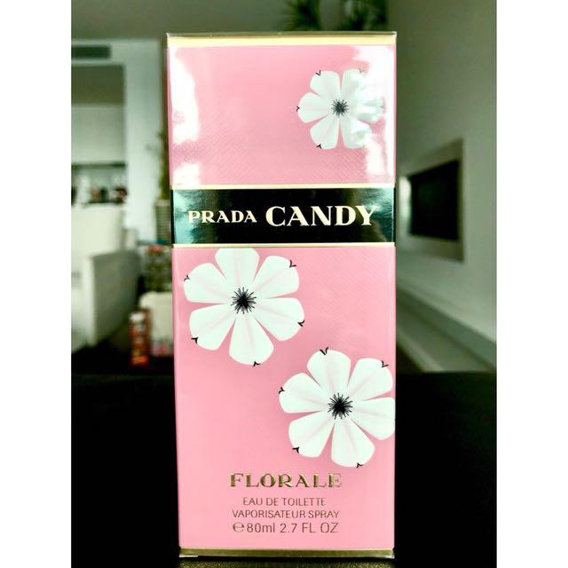 Prada Candy Florale Eau De Toilette 80ml