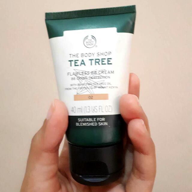 Preloved The Body Shop Tea Tree Flawless BB Cream