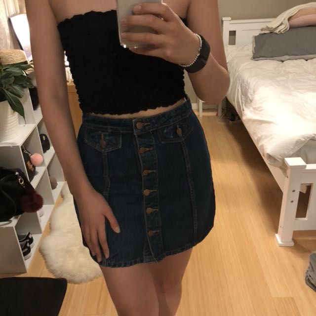Primary Denim Skirt Size 10