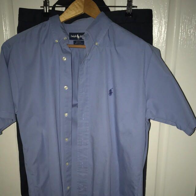 Ralph Lauren dress shirt medium