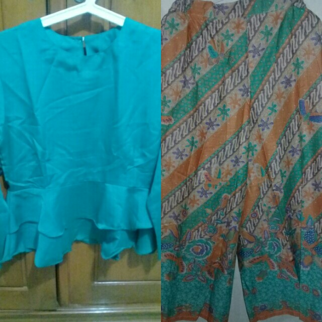Set blouse & kulot