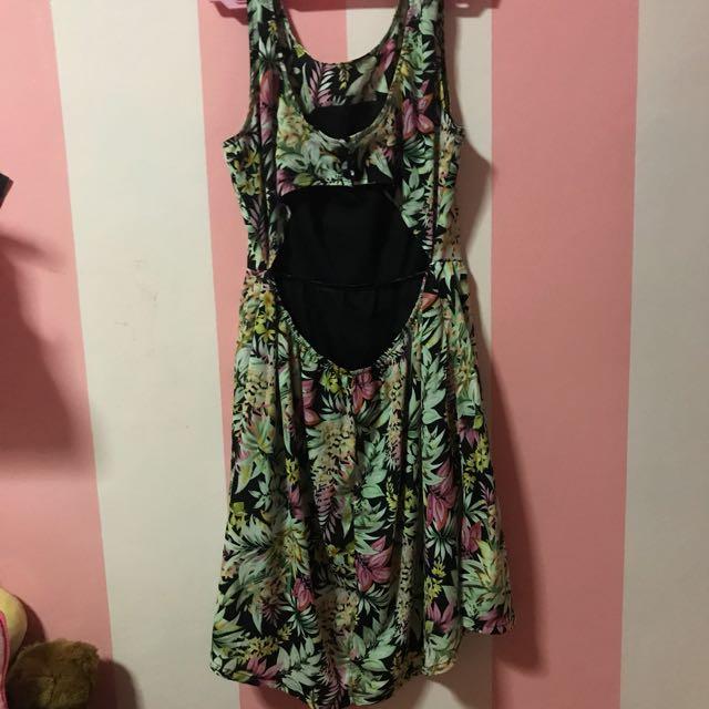 Sexy back, summer dress