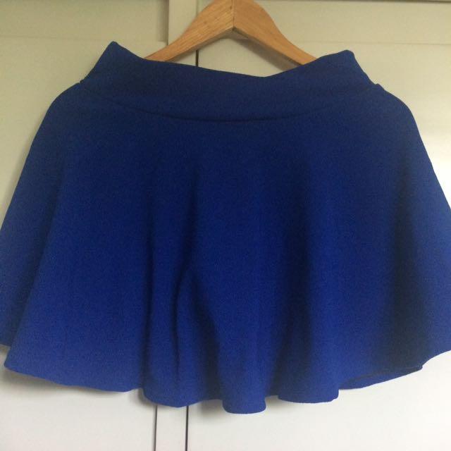 Skater skirt with short