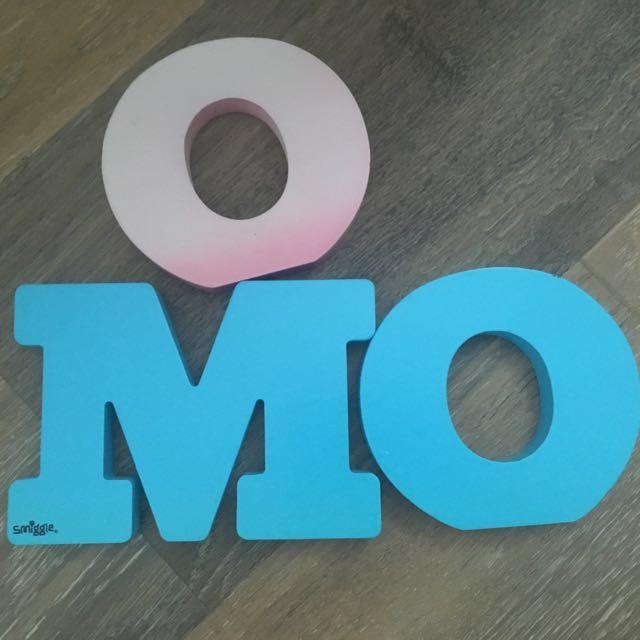 Smiggle Letters (M.O.O)