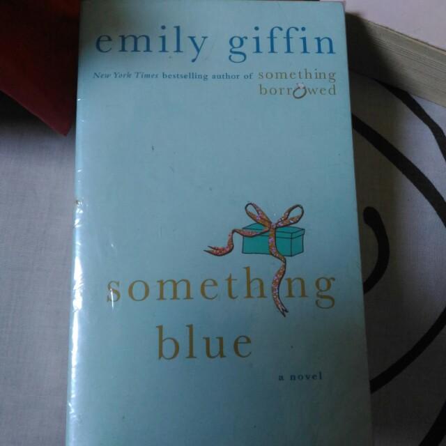 (Unused) Something Blue / Emily Griffin