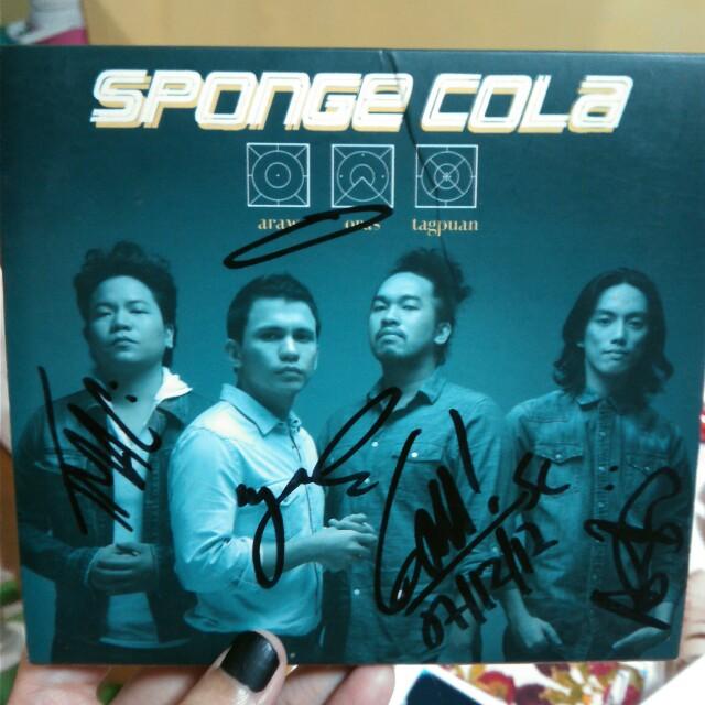Sponge Cola Araw Oras Tagpuan (SIGNED)