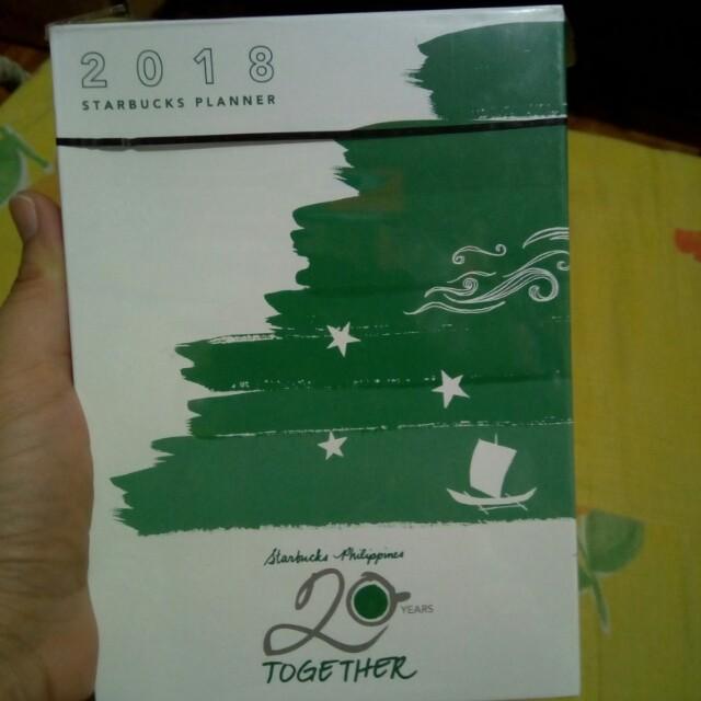 Starbucks 2018 Planner (Small)