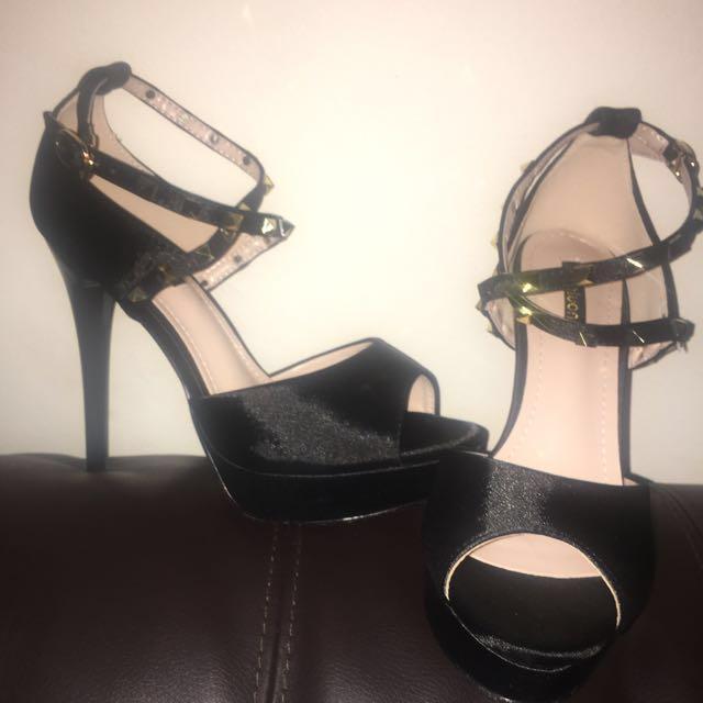 Studded style heels