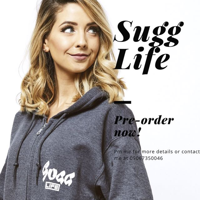 Sugg Life Hoodies, T-shirts, and Accessories! Pre-order now!