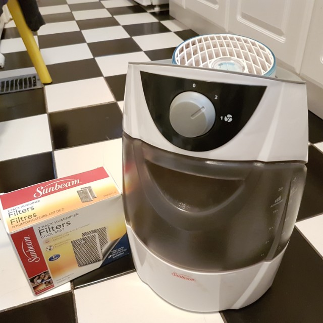 Sunbeam humidifier with brand new filter