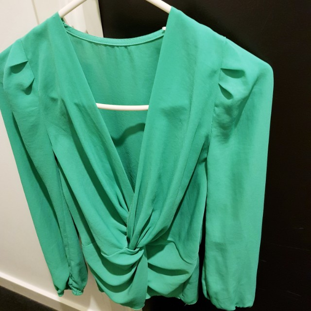 Teal Top - Size 8