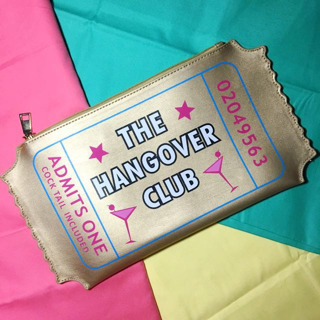 The Hangover Club Clutch Novelty Bag