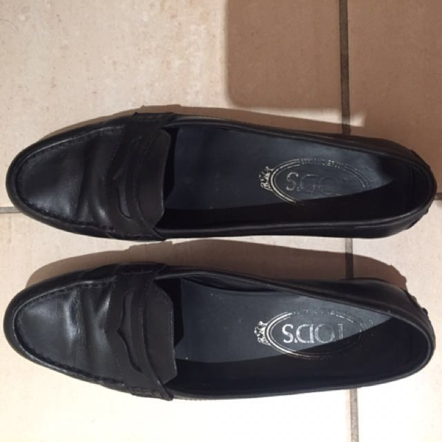 Tod's Genuine Leather Loafers