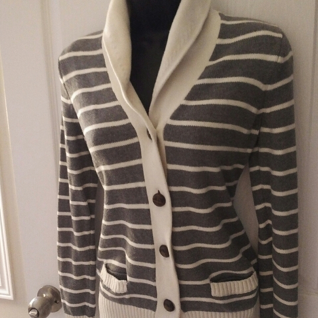 Tommy Hilfiger Striped Cardigan Size S