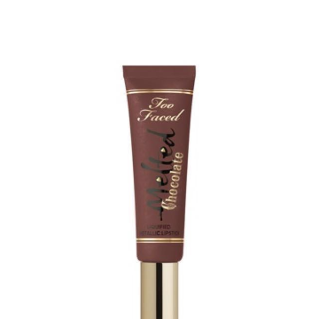 Too faced chocolate liquified Lipstick 💄