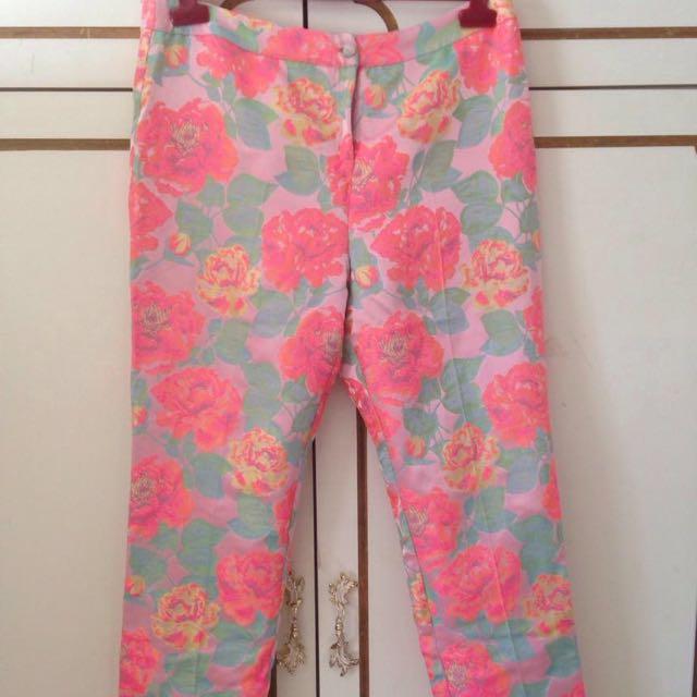 Top shop Crop Pants Size 14
