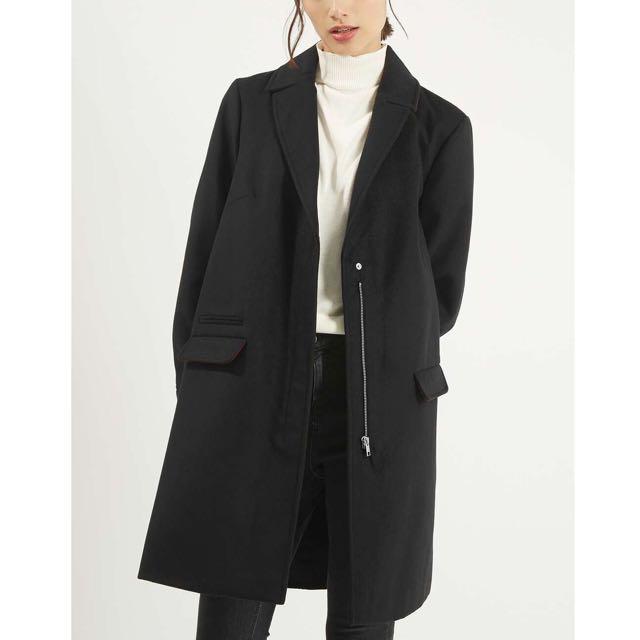 Topshop Slim fit coat