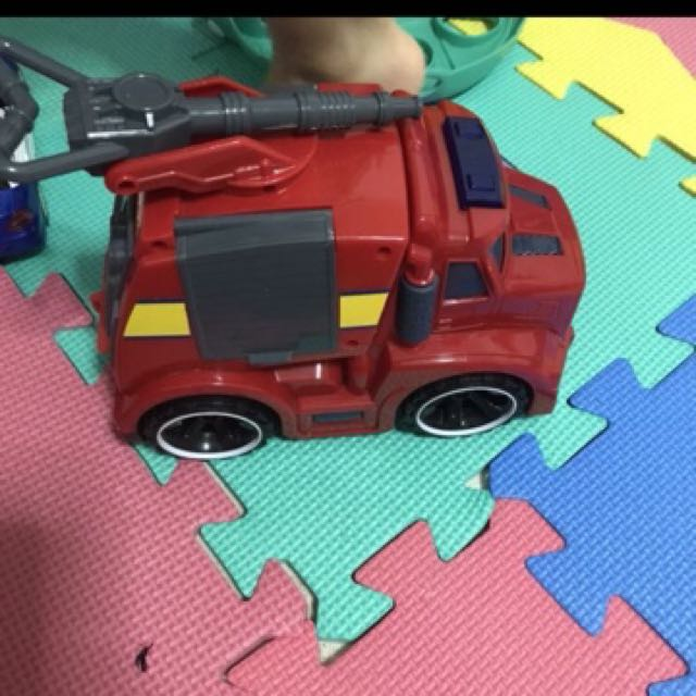 Toy Car toy truck toy firetruck toy