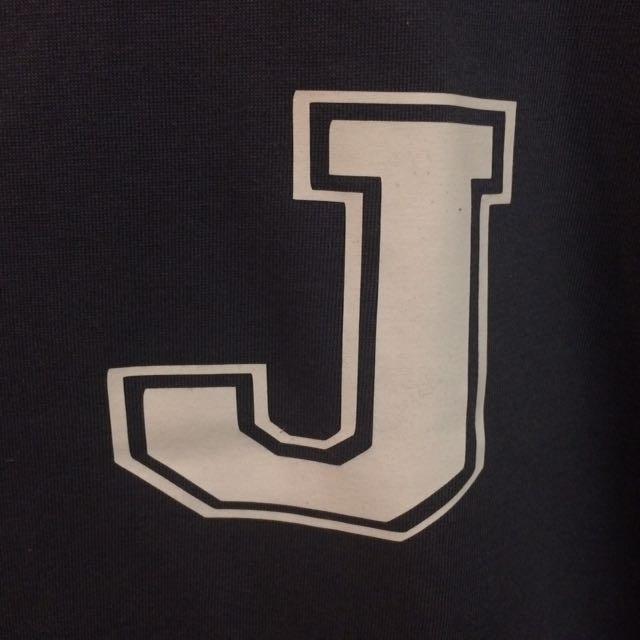 Unisex Initial Tee Letter J
