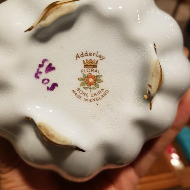 Vintage Adderlay Bone China Floral Bouquet