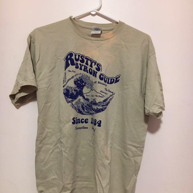Vintage Oversized Tsunami Shirt