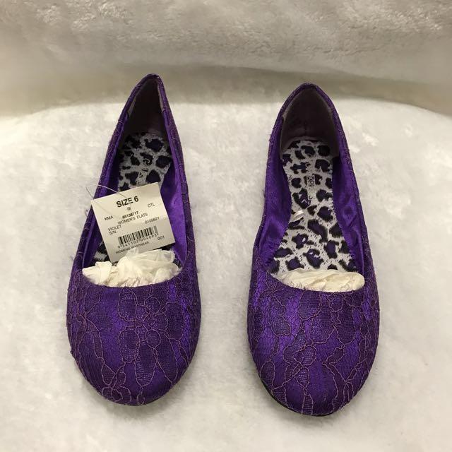 Violet Shoes Size 6