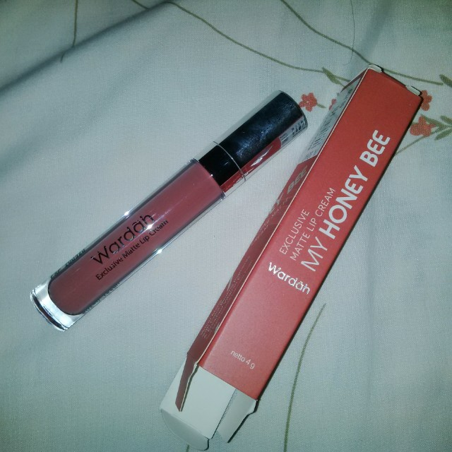 Wardah lip matte cream 14