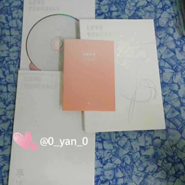 [WTS Fast] BTS Love Yourself O ver Unsealed Album