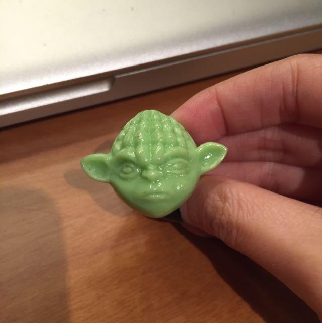 Yoda Ring (glow In The Dark)