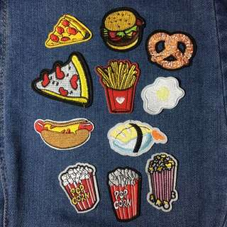 Iron on Patches (pm to see all designs)