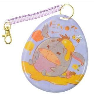 Ufufy Eeyore Honey Regular Pass Case BNWT Disney Store Japan
