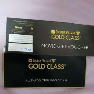 GV Gold Class Tickets (1 pair)