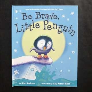💥NEW - Be Brave Little Penguin (Hard Cover)- Giles Andreae - Children Story book