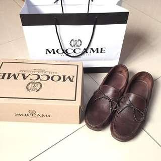 Sepatu Loafers Kulit Coklat (pedro,everbest,zara,tods)