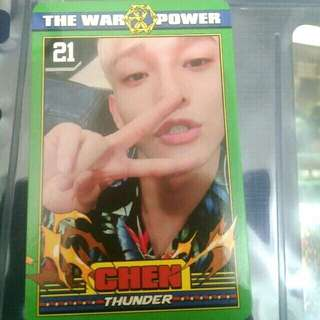 (WTS) EXO CHEN THE POWER OF MUSIC PHOTOCARD