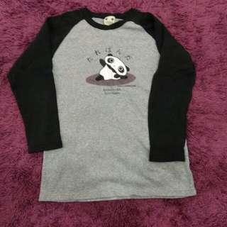 Tshirt panda women saiz L