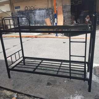 Double deck steel bed foam
