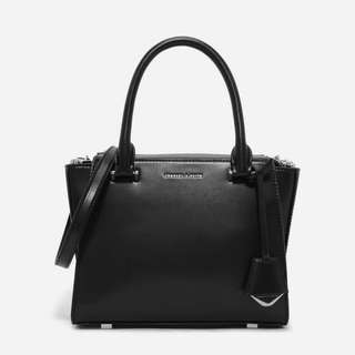 Charles & Keith basic trapeze bag