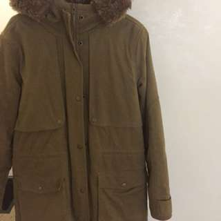 M. Billabong Winter Coat.