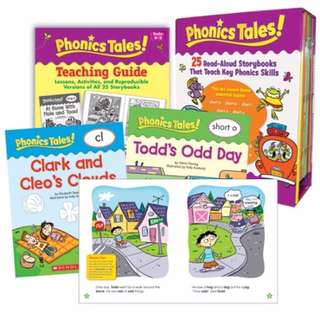 💥 NEW - Phonics Tales 25 books & CD set - Scholastic