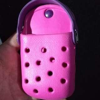 Crocs Purple Cell phone holder